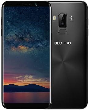 BLUBOO S8 Plus Smartphone 6 Pulgadas Pantalla HD + 1440 * 720 Píxeles Cámaras Traseras Duales 16MP + 3MP Cámara Frontal 8MP 4GB RAM + 64GB ROM Android 7.0 3600mAh Identificación de Huellas Dactilares: Amazon.es: Electrónica