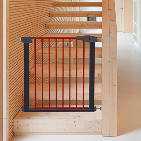 Stair Baby Gate Wall Protector Easy To Open Pet Door For Cat Dog Doorways  Play Yard