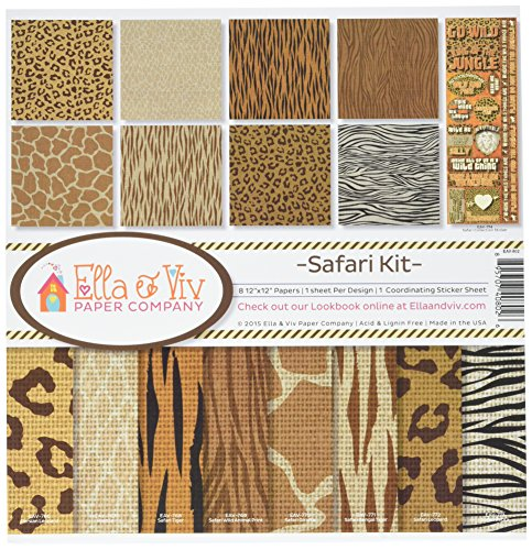 Reminisce EAV-802 Safari Collection Kit ()