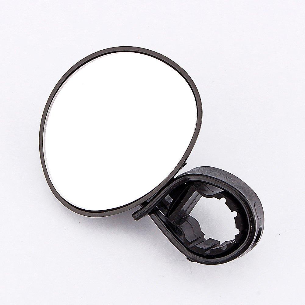 Alomejor V/élo R/étroviseur Noir Universel V/élo V/élo Guidon Bar 360 /° Rotation Mont Miroir pour V/élo VTT