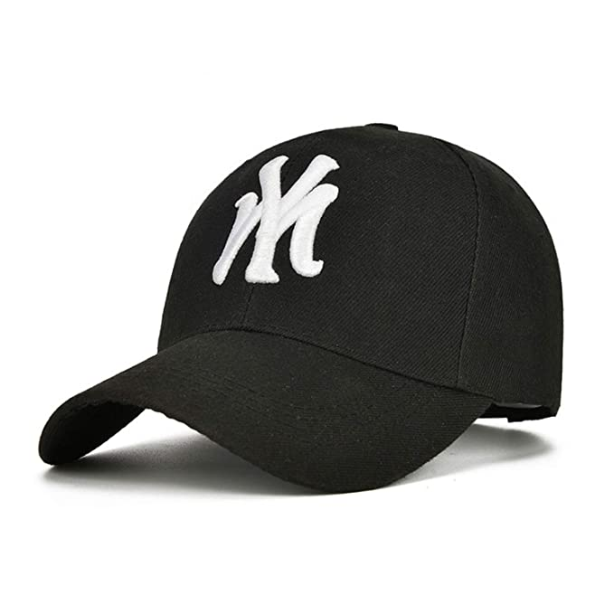 New Embroidery Baseball Cap Hip Hop Cap Fitted Hockey Adjustable Hats for Men Women Gorras Curved
