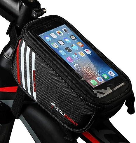 YUYAXBG Moda Bolsa Bicicleta Bolsa De Bicicleta Pantalla Táctil ...