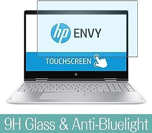 "Synvy Anti Blue Light Tempered Glass Screen Protector for HP Envy x360 15-bp100 / bp152wm / bp165cl / bp194cl / bp199ms / bp100na / bp165nr / bp108tx / bp143cl / bp152nr 15.6"" Visible Area"