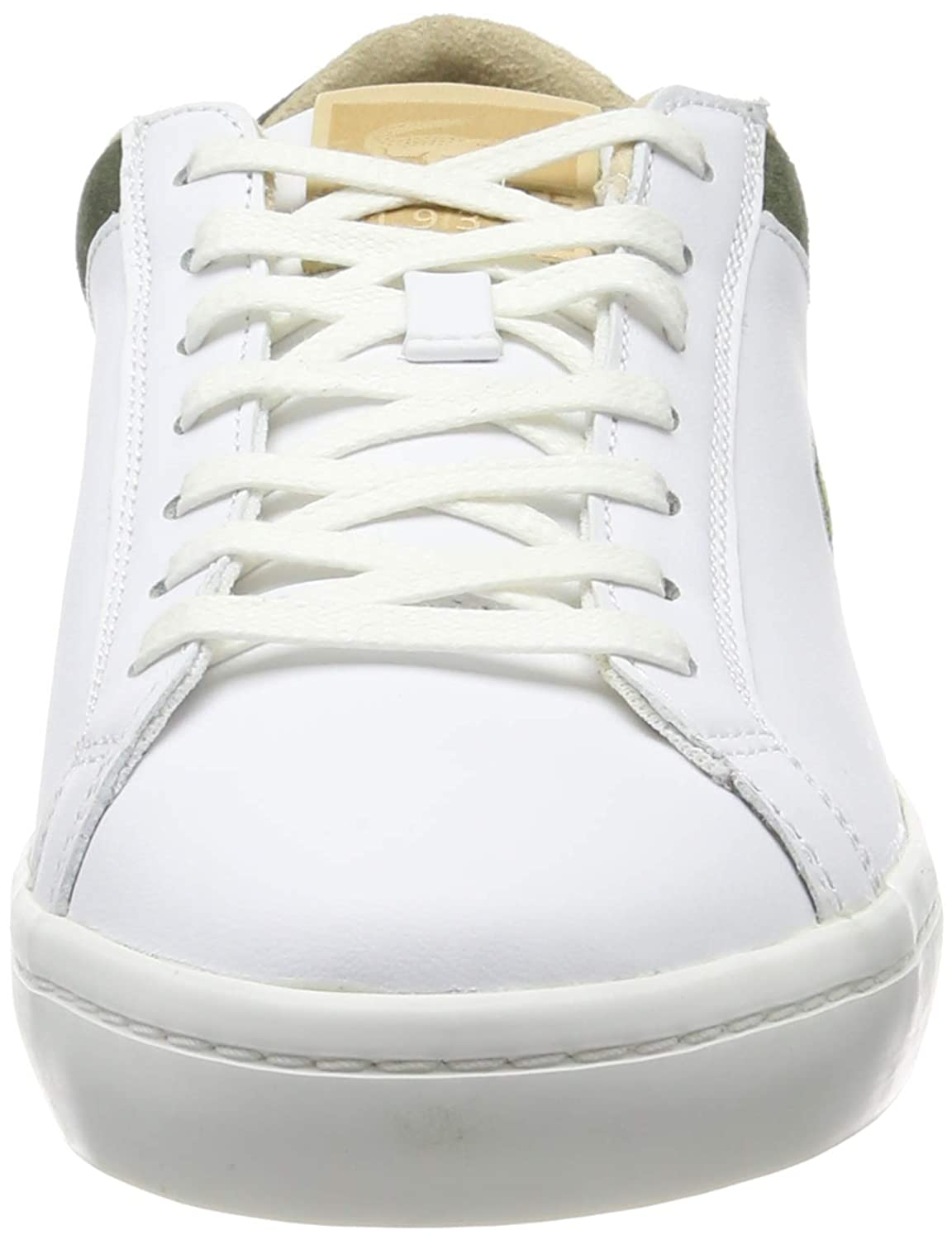 00bb7ab52a Lacoste Baskets Straightset H Lux Blanc Homme: Lacoste: Amazon.fr:  Chaussures et Sacs