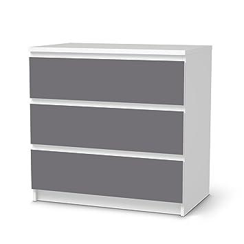 Klebefolie Sticker Tapete für IKEA Malm 3 Schubladen   Möbel ...