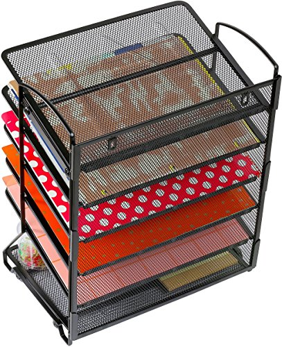 simplehouseware 6 trays desktop wall mount document With simplehouseware 6 trays desktop document letter tray organizer