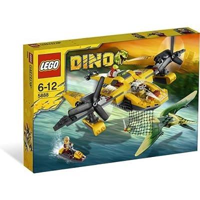 Lego Dino 5888 - Exclusive Ocean Interceptor: Toys & Games