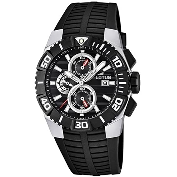 GENUINE LOTUS Watch MARC MARQUEZ Male Chronograph - 15778-8: Amazon.es: Relojes