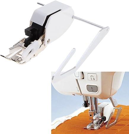 1 pcs Recorridos de Pie,Prensatelas de corte lateral para máquina de coser: Amazon.es: Hogar