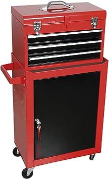 Cogex 62746 - Caja de herramientas (metal): Amazon.es: Bricolaje y herramientas