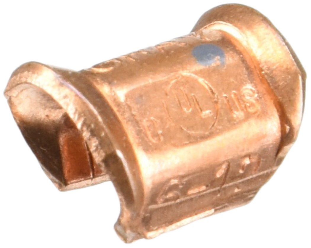 Copper C Tap Grounding Connector for 6 to 8 AWG