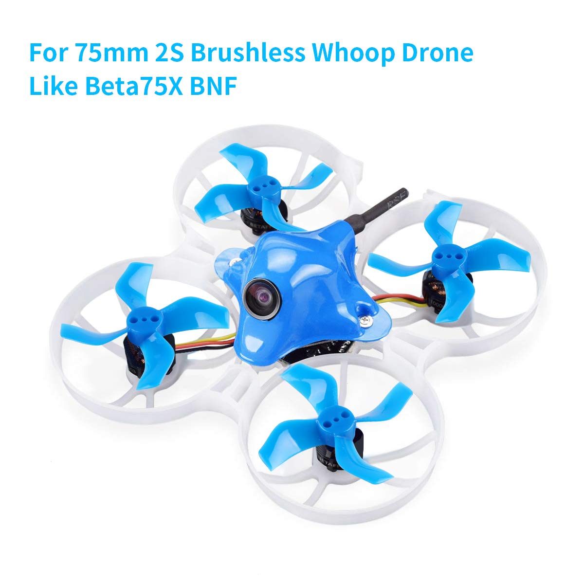 16pcs 40mm 3 Blade Props Tiny Whoop 3-Blade Propellers 1.5mm Shaft for 1103 1105 RC Drone FPV Racing Brushless Motor Micro Drone FPV Racing Quadcopter Crazepony