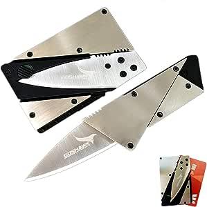 Goshawk Survival Tool Credit Card Folding Knife Stainless Steel Multi-Function Card Shape Pocket Wallet Knife Cutter