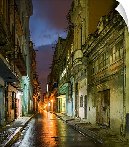 Canvas on Demand Tony Sweet Wall Peel Wall Art Print entitled Old Havana (Havana Sweets)