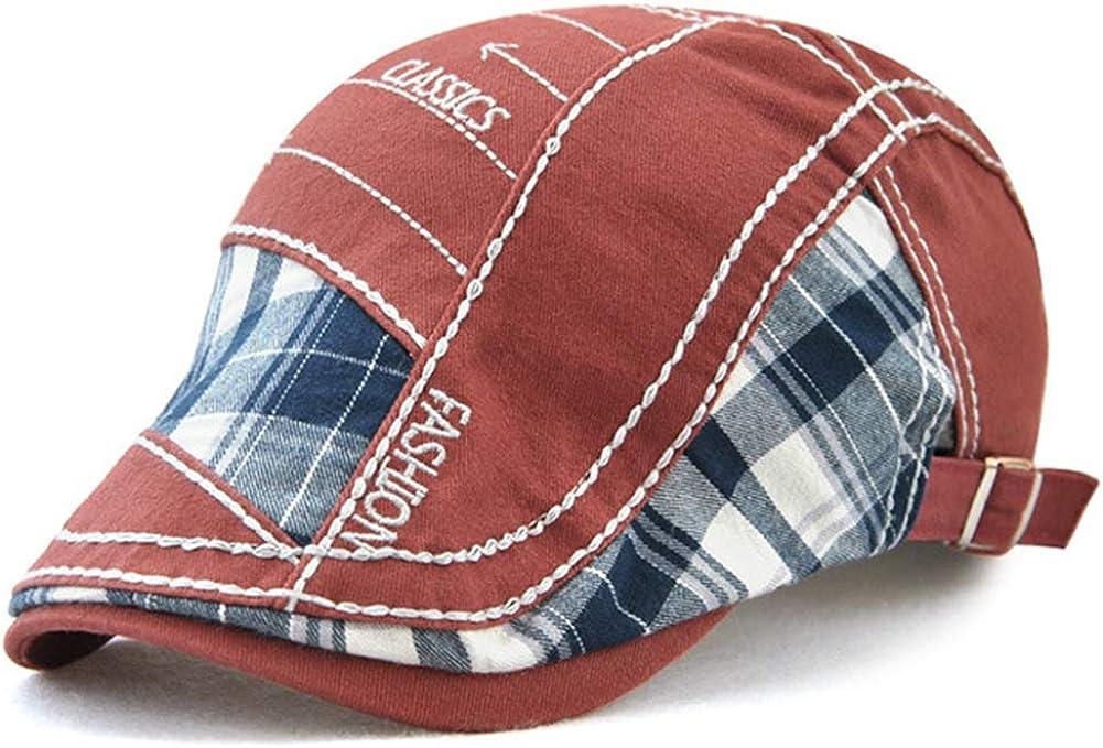 Tioamy Baschi Scozzesi Cappelli e Cappellini Camuffamento Coppola Cappello Irish Gatsby Newsboy Hat Flat cap