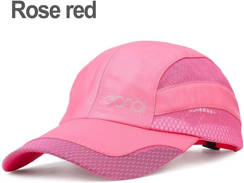 DONQL Unisex Breathable Quick Dry Mesh Baseball Cap Outdoor Fishing Cap Sun Hat