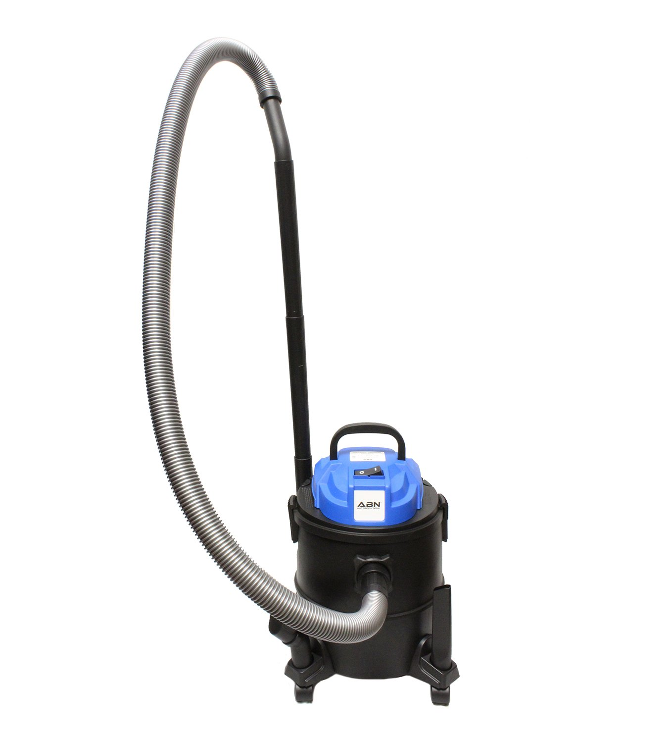 ABN Electric Wet Dry Shop Vacuum Cleaner in Blue with Accessories, 5.3 Gallon – Automotive Garage, Car, Vac Blower Kit