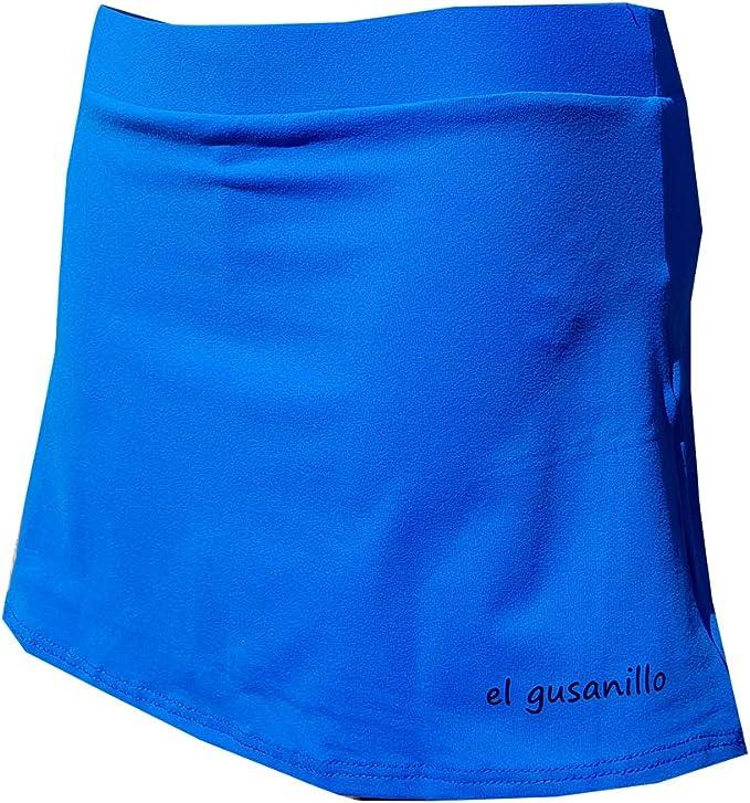 El Gusanillo - Falda de pádel o Tenis en Suplex, la Tela más ...