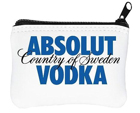 Absolut Vodka Logo Billetera con Cremallera Monedero ...