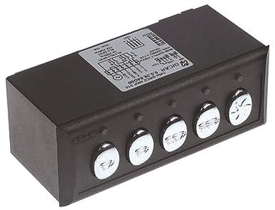 Expobar 1d5e GRCZ NKP S10 - Unidad de teclado para cafetera G-10 (5 botones, conexión de sonda, ancho 117 mm, altura 45,3 mm): Amazon.es: Industria, empresas y ciencia