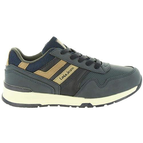 Zapatillas Deporte de Niño y Niña LOIS JEANS 83852 107 Marino: Amazon.es: Zapatos y complementos
