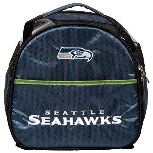 KR Strikeforce Seattle Seahawks Single Add On Bowling Bag, Multicolor