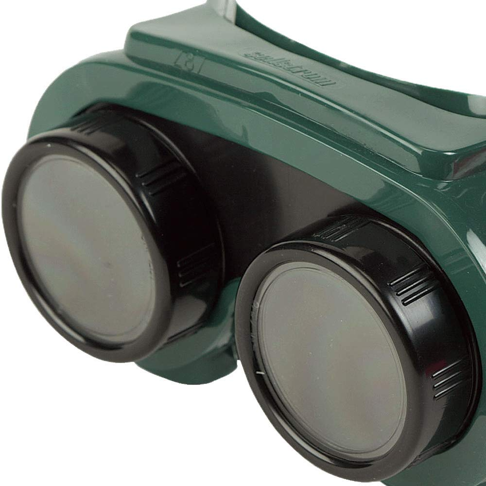 Sellstrom 85250 PVC Indirect Vent Lens Cover Welding Goggle Body Green Sellstrom Manufacturing Company S85250 50mm Diameter Shade 5 IR Lens