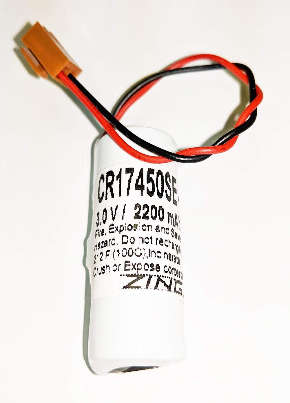 A02B-0200-K102 A02B-0327-B802 CR17450E-RL 3v Sanyo Battery for A98L-0031-0012