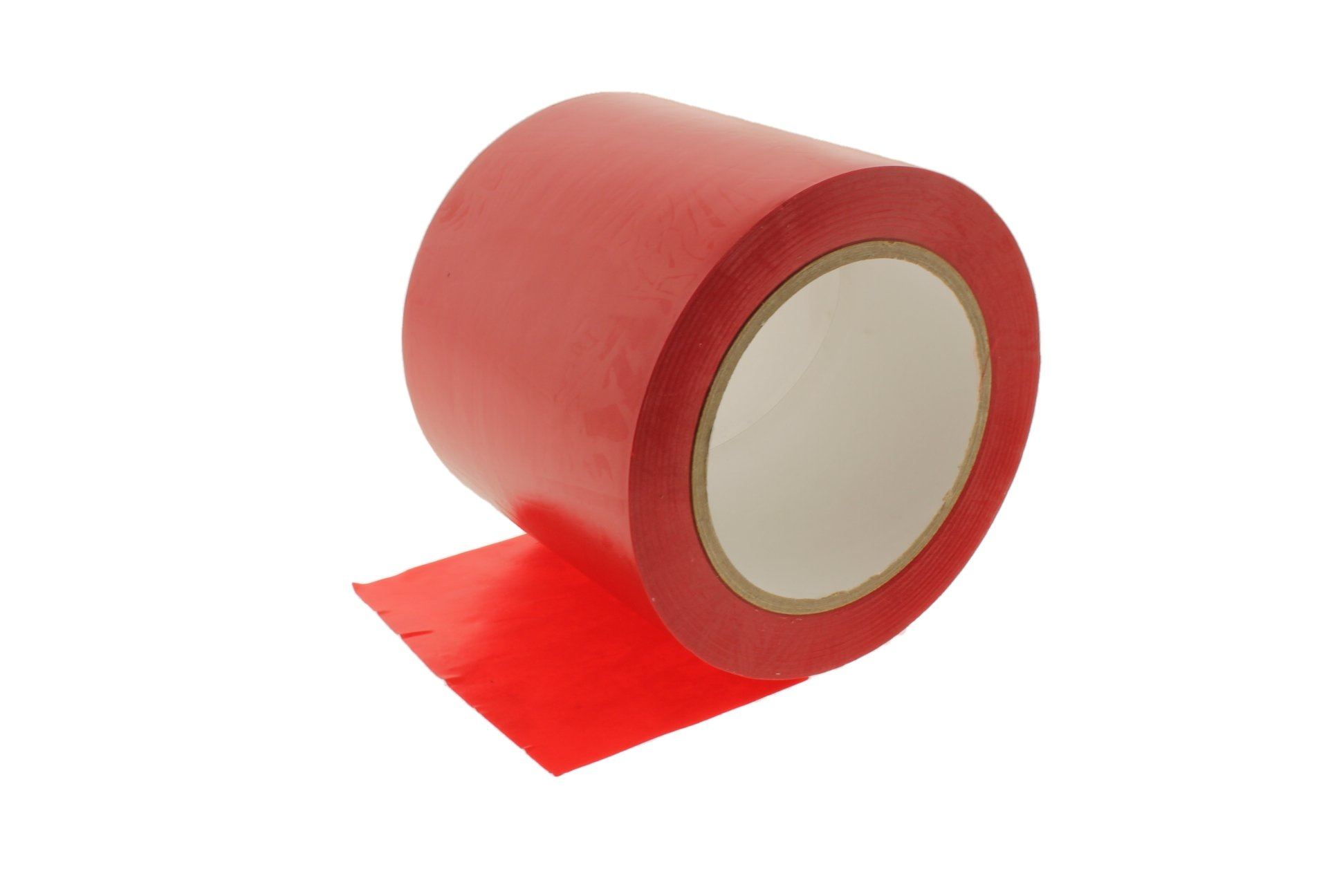 4'' General Purpose Red Insulated Adhesive PVC Vinyl Sealing Coding Marking Electrical Tape (3.76 in 96MM) 36 yard 7 mil