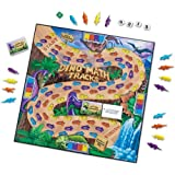 Learning Resources Dino Math Tracks Game, Addition and Subtraction Game, Ages 6+