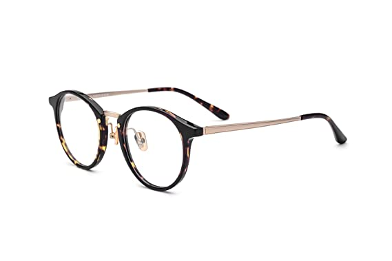 ae7b742a8a3a HEPIDEM Unisex Acetate Round Glasses Frame 2017 Eyeglasses Female Optical  Glasses Frames Spectacles 7028(Leopard