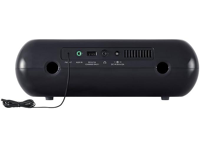 Sangean rcr-20 FM-RDS (fácil) Am/Bluetooth/AUX/USB Carga Radio Reloj con sintonización Digital Radio: Amazon.es: Electrónica