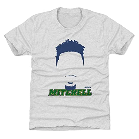 93fb34ce0 Amazon.com   500 LEVEL Donovan Mitchell Utah Basketball Kids Shirt ...