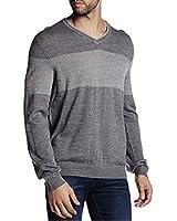Calvin Klein Men's Colorblock V-Neck Sweater