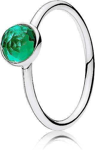 Amazon Com Pandora May Droplet Birthstone Ring Jewelry