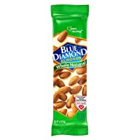 Deals on 12 Pack Blue Diamond Almonds, Whole Natural, 1.5 Ounce