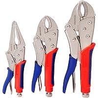 3 pc piece Long Reach Hose Grip Pliers #33 New