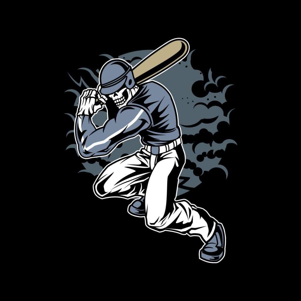 Coto7 Skull Baseball Kids Sweatshirt