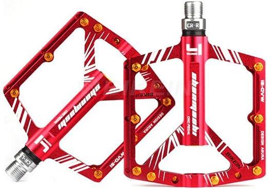 Al aire libre Pedales para bicicleta Cr-Mo Mecanizado de aluminio ...