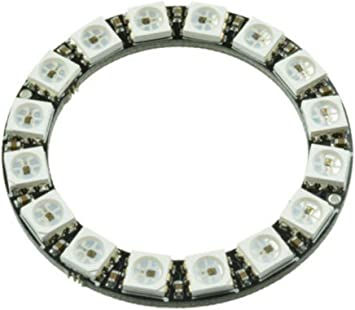16Bit WS2812 5050 RGB LED Ring RGB LED Integrated Drivers For Arduino New