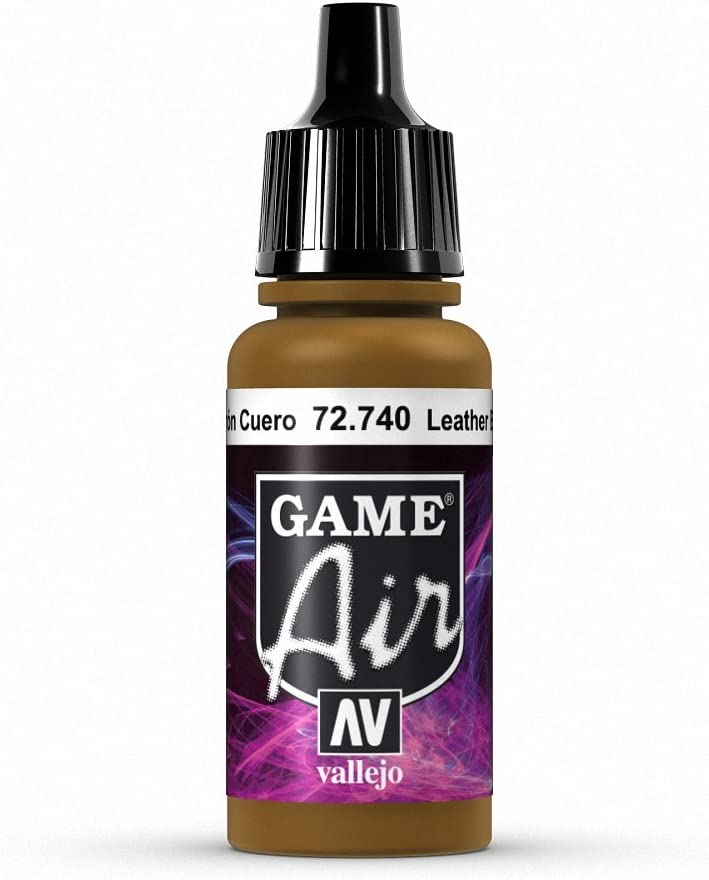 Vallejo Game Air Leather Brown Paint