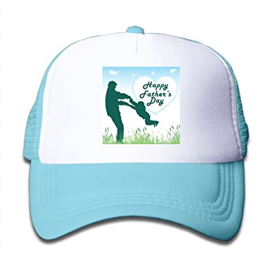 Li2u-id Happy Father's Day Child Cap Adjustable Baseball Caps Mesh Hat