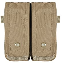 Fox Outdoor Products Rip-Away AR-15/AK 47 Dual Mag Pouch Coyote