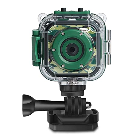 PROGRACE Children Kids Camera Waterproof Digital Video HD Action Camera 1080P Sports Camera