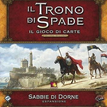 Asmodee Italia-Juego de Tronos LCG 2nd Ed. expansión Sabbie de Dorne Juego de Mesa, Color, 9236: Amazon.es: Juguetes y juegos