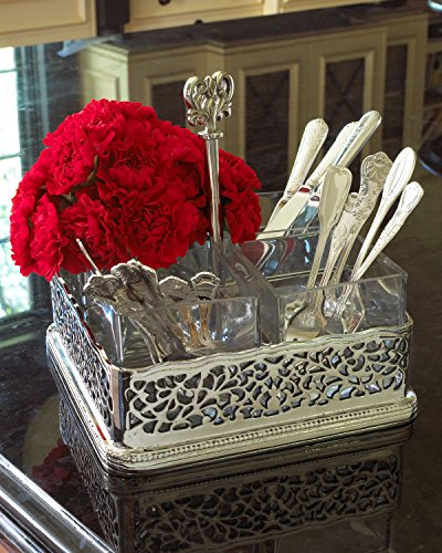 Godinger OPEN WORK FLATWARE HOLDER by Godinger