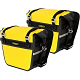 Nelson-Rigg SE-3050-YEL Sierra Dry Saddlebags 100% Waterproof Mount to most Adventure and Dual Sport Motorcycles, Yellow