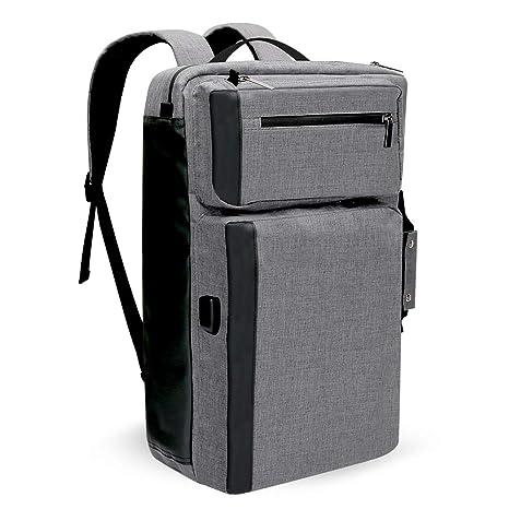 42bf819a4efcb4 Convertible Laptop Backpack, Titita Business Travel Bag Shoulder Bag Water  Resistant & Anti-Theft