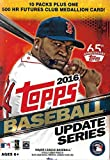 2016 Topps Traded Update and Highlights Series MLB Baseball Box of Packs with One Exclusive Home Run Futures Commemorative Medallion Card and 10 Packs of 10 Cards, 101 Cards Total
