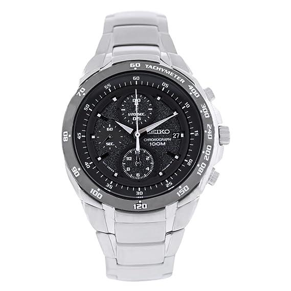 Seiko Watches SND703 - Reloj de pulsera hombre, acero inoxidable, color Plata: Seiko: Amazon.es: Relojes